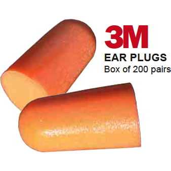3M Ear Plugs. Box Of 200 - The PPE Shop