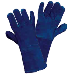 Blue Welders Gauntlet - The PPE Shop