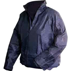 Jacket - Lightweight Navy Waterproofs - The PPE Shop
