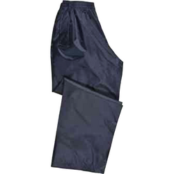 Trousers - Lightweight Navy Waterproofs - The PPE Shop
