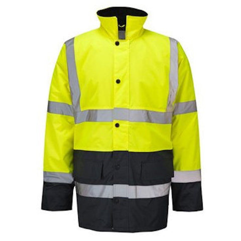 TWO TONE HI VIS COAT - The PPE Shop