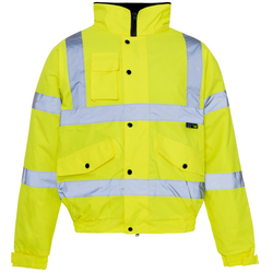 Hi-Viz Bomber Jacket - The PPE Shop