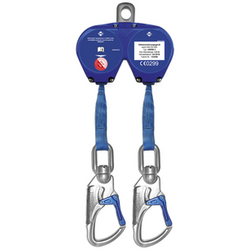 HWDB - Fall Arrest Block - Aluminium Housing, Webbing Lifeline - The PPE Shop