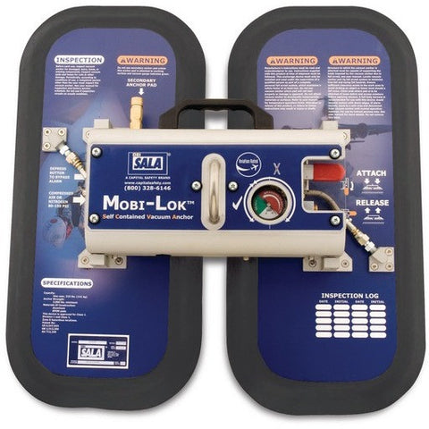 Mobi-Lok aviation industry self-contained vacuum anchor secondary pad - The PPE Shop
