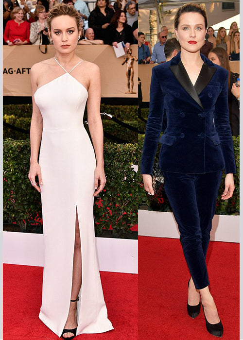 SAG Awards Brie Larson Evan Rachel Wood