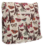 Noel Paris Butterfly Floral Classic Large Womens Cross-Body Bag-Crossbody-SWANKYSWANS