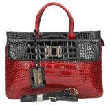 Swanky Swans Bedford Handbag Black & RedCheap Fashion Wedding Work School