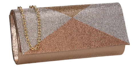 Arya Clutch Bag Champagne for Prom, Weddings And more!