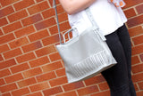 Beverly Handbag Neutral Grey