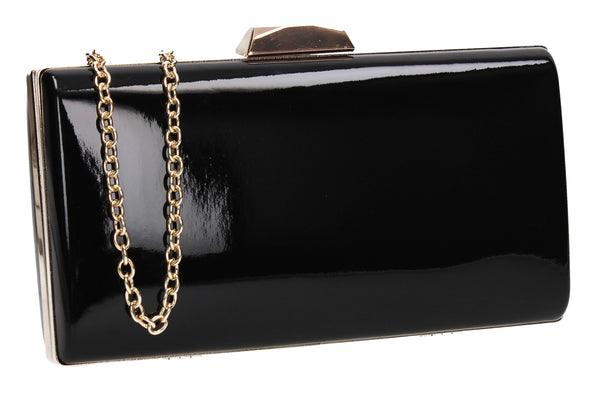 SWANKYSWANS Finley Clutch Bag Black