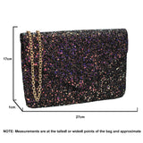 SWANKYSWANS Zuri Clutch Bag Black Cute Cheap Clutch Bag For Weddings School and Work