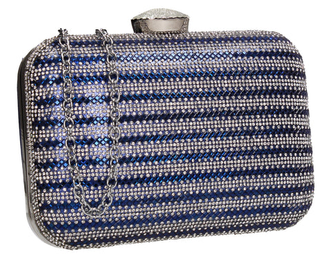 Jane Clutch Bag Blue for Prom, Weddings And more!