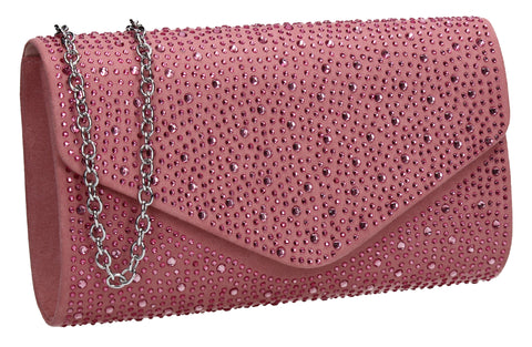 Pink Clutch Bag Cute Prom Summer Outfit - Cadence Clutch Bag Blush