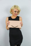Paris Clutch Bag Beige