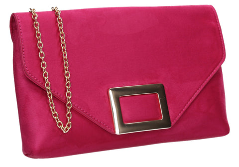 Georgia Clutch Bag Fuchsia
