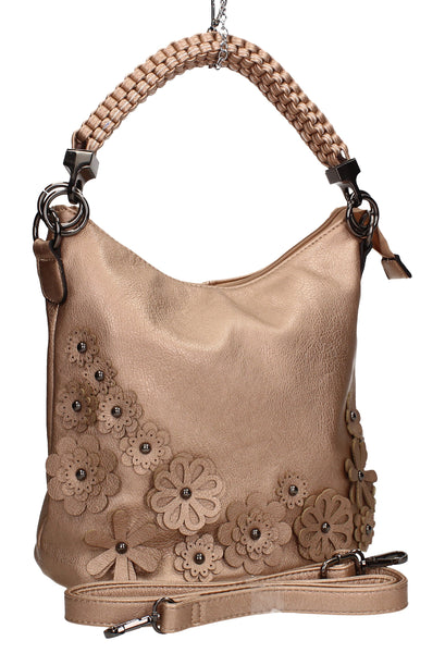 Swanky Swans Shauna Handbag GoldPerfect for School, Weddings, Day out!