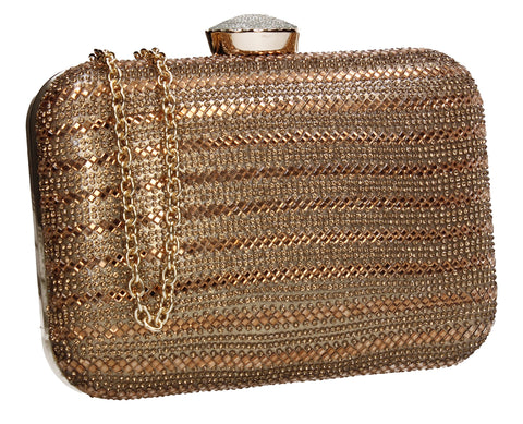 Jane Clutch Bag Gold for Prom, Weddings And more!