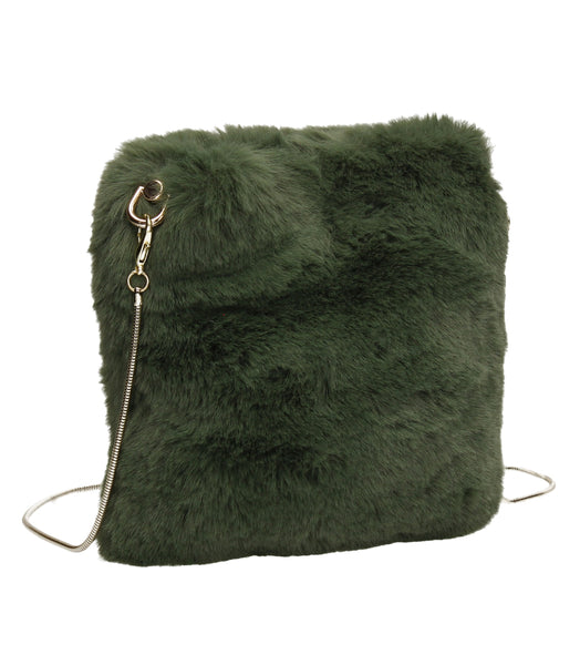 SWANKYSWANS River Clutch Bag Green Cute Cheap Clutch Bag For Weddings School and Work