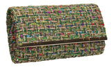 SWANKYSWANS Charlotte Clutch Bag Green Cute Cheap Clutch Bag For Weddings School and Work