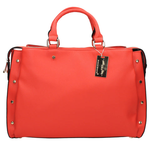SWANKYSWANS Michelle PU Handbag Red
