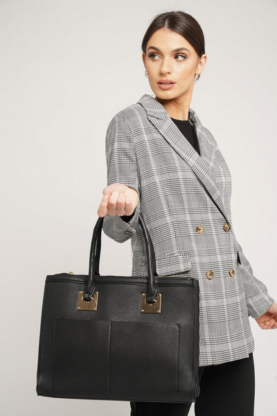 Lily Spy Cosmo Workbag Black