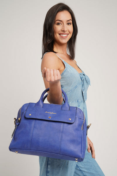 Carla Smart Work Handbag Royal Blue
