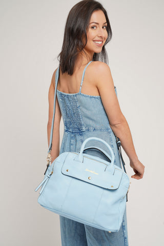 Carla Smart Work Handbag Sky Blue