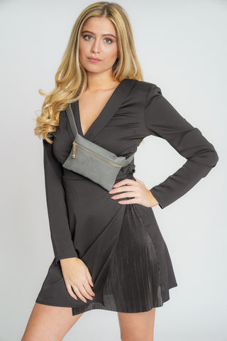 Freya Belt Bum Bag Grey