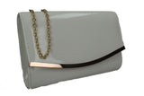 SWANKYSWANS Lilo Clutch Bag Ivory Cute Cheap Clutch Bag For Weddings School and Work