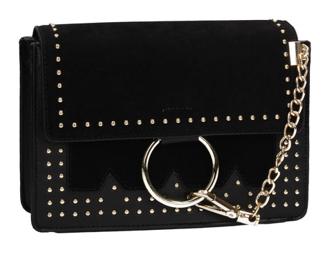Sylvia Clutch Bag Black