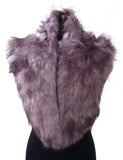 Lydia Winter Light Purple Faux Fur Wrap Neck Warmer