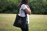 Swanky Swans Millie Handbag BlackPerfect for School, Weddings, Day out!