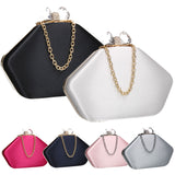 SWANKYSWANS Karie Clutch Bag Black Cute Cheap Clutch Bag For Weddings School and Work