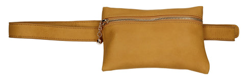 Freya Belt Bum Bag Mustard Yellow