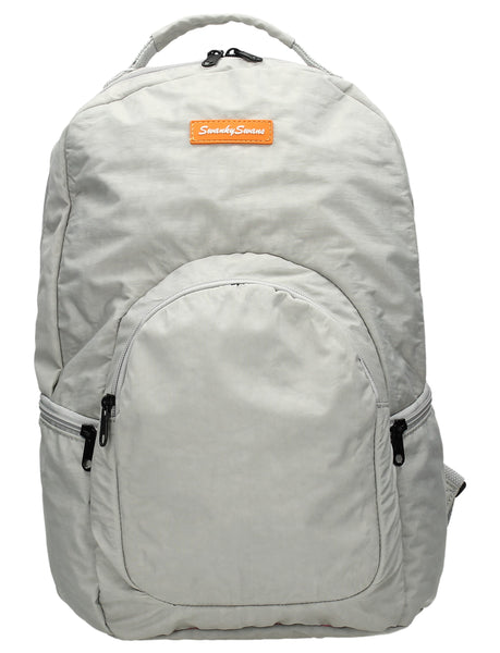 Joseph & Mary Baby Changing Backpack - Pale Grey-Baby Changing-SWANKYSWANS