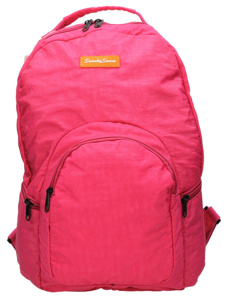 Joseph & Mary Baby Changing Backpack - Fuschia-Baby Changing-SWANKYSWANS