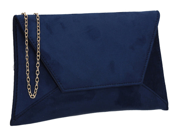 Dory Envelope Clutch Bag Navy
