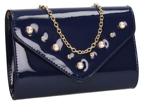 Callie Clutch Bag NavyCheap cute Clutch Bag for Wedding Prom Party