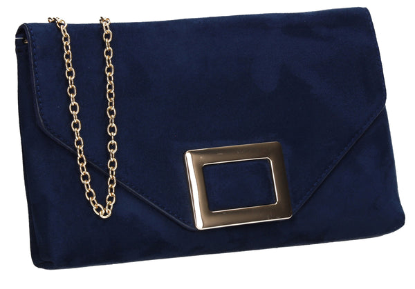 SWANKYSWANS Georgia Clutch Bag Navy