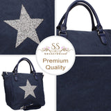 Swanky Swans Sian Handbag Navy BluePerfect for School, Weddings, Day out!