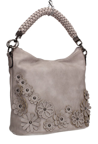 SWANKYSWANS Shauna Handbag Neutral Grey