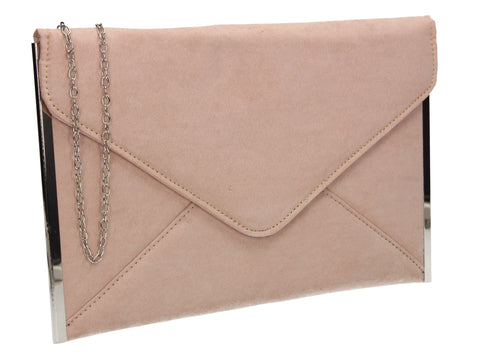 Louis Slim Clutch Bag Beige