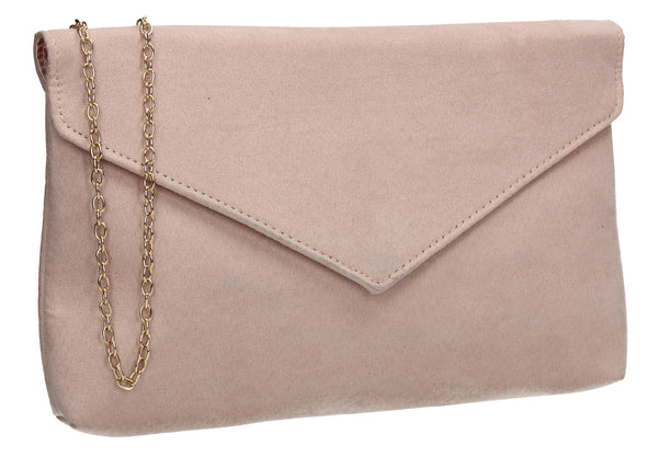 SWANKYSWANS Rosa Clutch Bag Beige Cute Cheap Clutch Bag For Weddings School and Work
