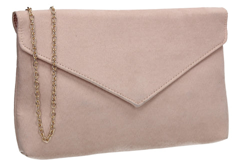 Rosa Clutch Bag Beige