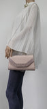 SWANKYSWANS Harper Clutch Bag Beige Cute Cheap Clutch Bag For Weddings School and Work