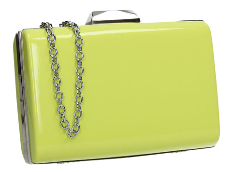 SWANKYSWANS Oregon Clutch Bag Green Cute Cheap Clutch Bag For Weddings School and Work