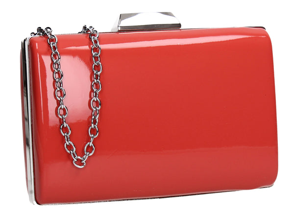 SWANKYSWANS Oregon Clutch Bag Red Cute Cheap Clutch Bag For Weddings School and Work