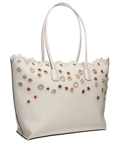Swanky Swans Preston Handbag PearlPerfect for School, Weddings, Day out!