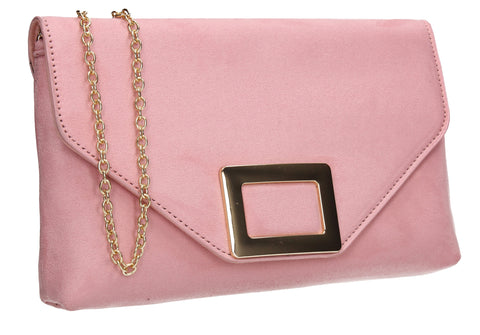Georgia Clutch Bag Pink