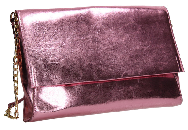 SWANKYSWANS Jenna Clutch Bag Pink Cute Cheap Clutch Bag For Weddings School and Work